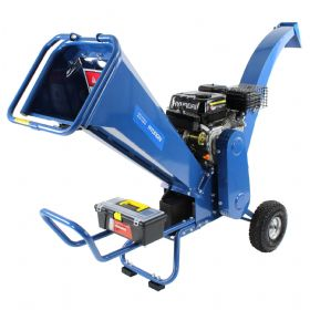 Hyundai HYCH7070E-2 7hp 208cc Electric Start Wood Chipper + FREE OIL